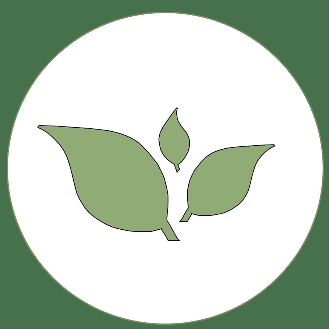 Icon mit Pflanzen