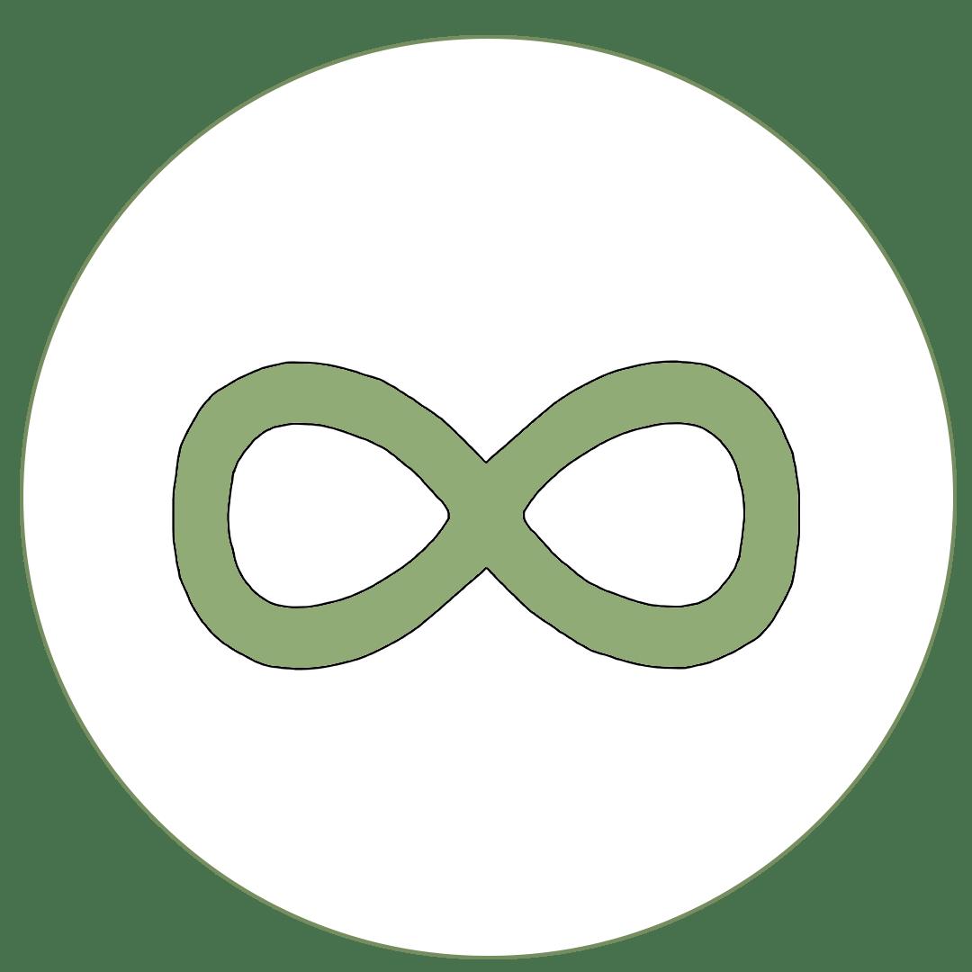 Icon von Unendlichkeitszeichen