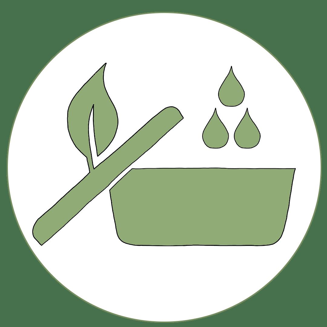 Icon von der Reinigung