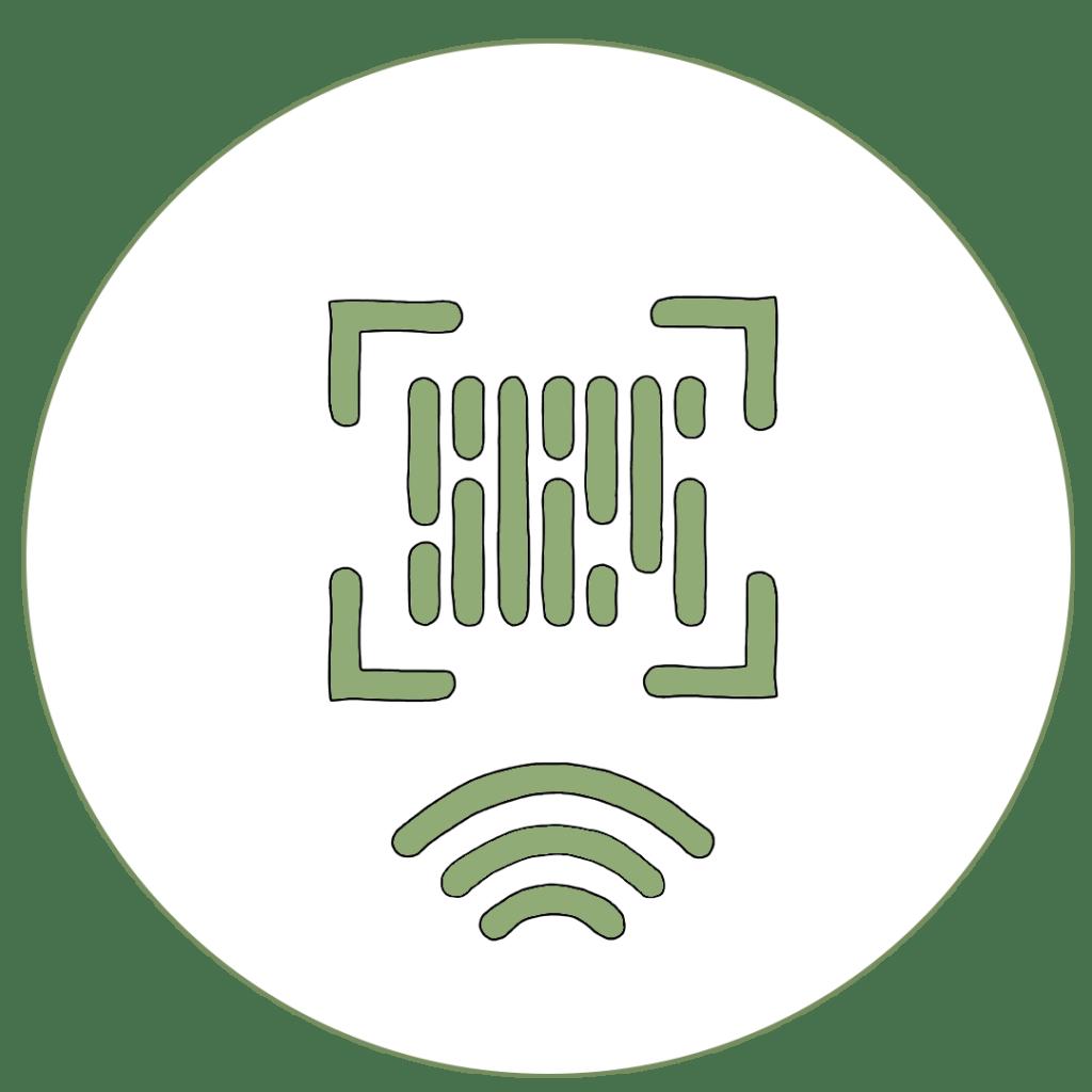 Icon von einem EAN-Code