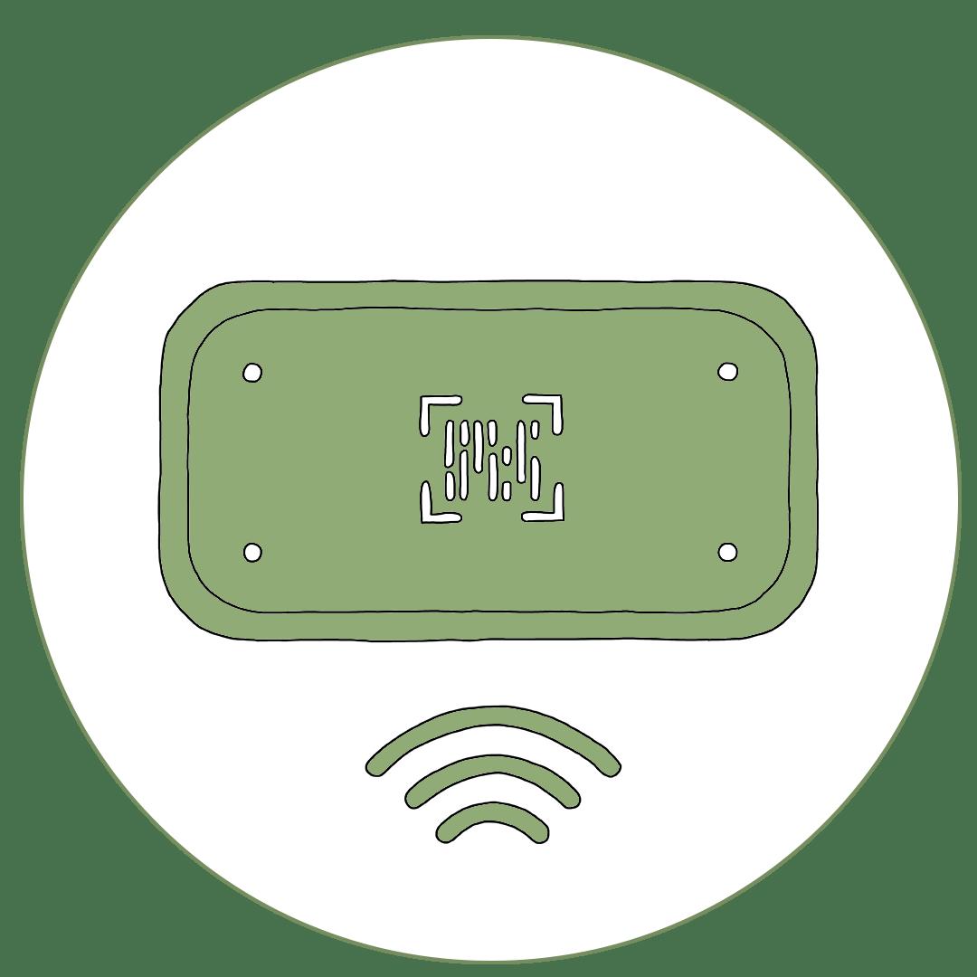 Icon von Scanvorgang