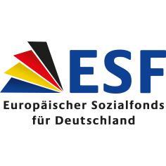 Logo Europäischer Sozialfond in Deutschland